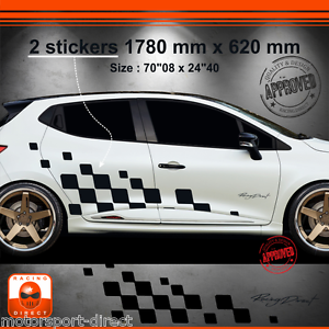Details About Sticker Renault Clio Rs 4 Iv Tuning Sport Aufkleber Adesivi Pegatina Decal 028