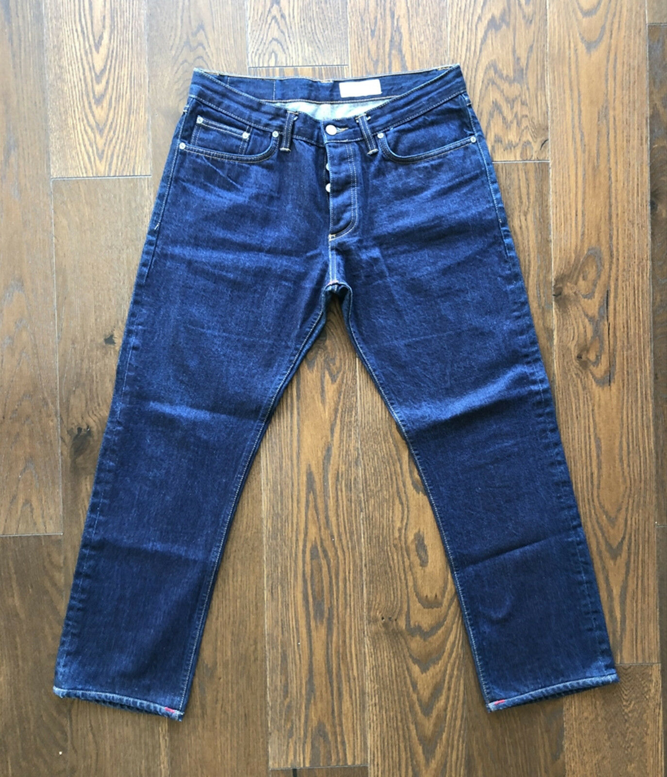 Gustin Men's Jeans  Pure bluee Size 35x30