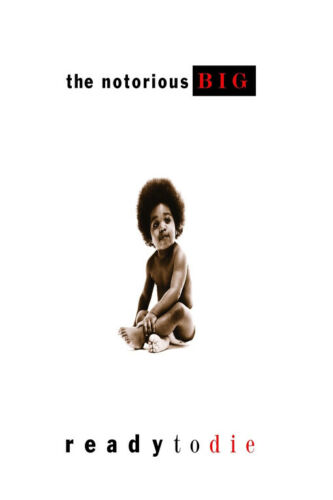 Ready to Die Album Cover Hot Fabric Poster F-649 The Notorious B.I.G