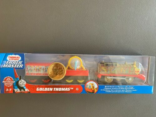 *thomas /& Friends Trackmaster Golden Thomas 2020 75th Birthday Gold Train for sale online