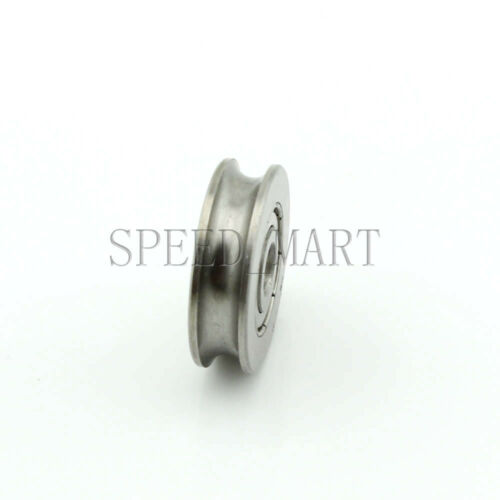 5pc 6x25x7mm 626ZZ U Groove Guide pulley 440c Stainless Steel Metal Ball Bearing