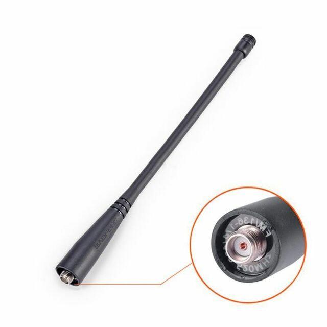 1X(Talkie-walkie pour antenne BaoFeng uv-5r SMA-Femelle UHF / VHF 136-174 / 4 GH