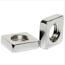 M3 Stainless Steel Square Thin Nuts Din 562 100pcs Thickness 18mm