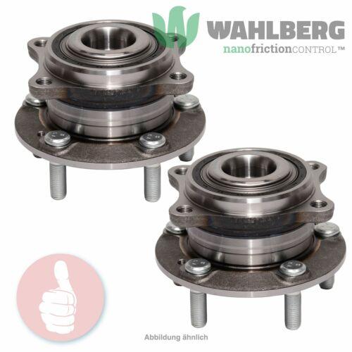 2 x Original WAHLBERG Radlager Radlagersatz WB92586 Vorderachse oder Hinterachse