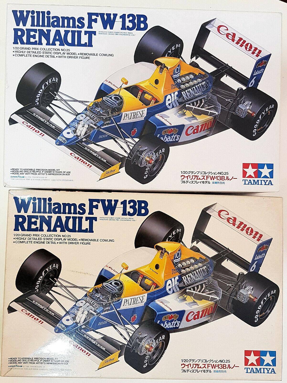 2 KIT  Williams Fw 13b Renault Tamiya 1-20
