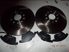 FRENI ANTERIORI dischi + pastiglie per AUDI A1 A3 A3 SPORTBACK  AUDI TT