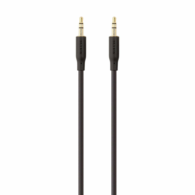 Belkin 2M / 6.6ft Portable Audio Cable F3Y117bt2M