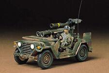 TAMIYA - 1:35 Plastic Model Kit - U.S. M151A2 w/Tow Launcher Kit - CA22 - 35125