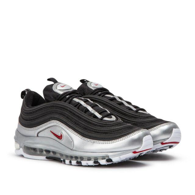 82aa3f2028 Nike Air Max 97 QS Black Metallic Silver Men's Size 11 AT5458 001 No Box Top