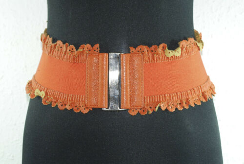 Gürtel Breiter Damengürtel Hüftgürtel Leder-Look Taillengürtel Metallverschluß