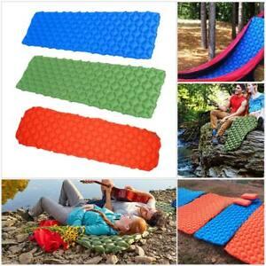 Outdoor-Tent-Sleeping-Pad-Self-Inflating-Mat-Bed-Hiking-Air-Mattress-Camping-US