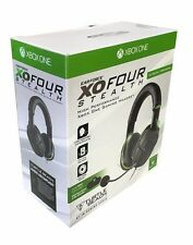 Turtle Beach Ear Force XO FOUR 4 Stealth Gaming Headset for Xbox One Black/Green