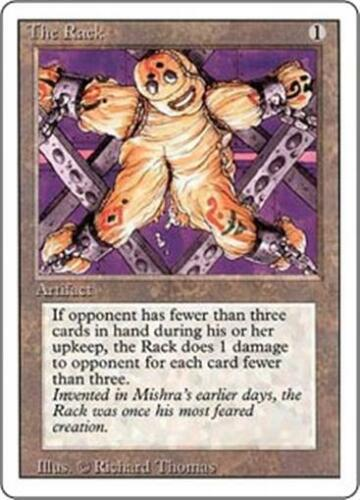 THE RACK Revised Edition MTG Artifact Unc