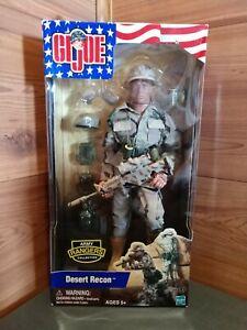 Tout neuf Gi Joe® Desert Recon ™ Hasbro 2002 Figurine en boîte scellée en usine 76930818091