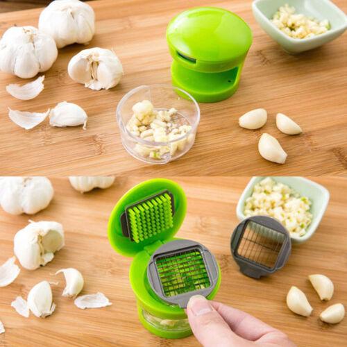 Kitchen Tool Garlic Chopper Slicer Cutter Grinder Hand Twist Presser Masher TOP1
