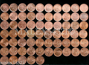 CANADA-1960-TO-2012-1-CENT-HIGH-GRADE-CIRCULATED-65-COINS