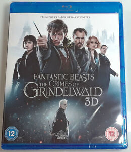 FANTASTIC-BEASTS-THE-CRIMES-OF-GRINDELWALD-Brand-New-3D-BLU-RAY-2D-Blu-ray