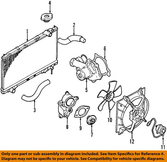 Engine Cooling Fan Motor Mopar 4863999 Fits 9698 Chrysler Sebring. Chrysler Oem 9699 Sebringradiator Cooling Fan Motor 4863999. Chrysler. Chrysler Sebring Cooling Fan Diagram At Scoala.co