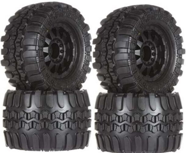 Pro-Line 10111-13 Interco TSL SX Super Swamper 3.8  Tires   Wheels (4) Summit