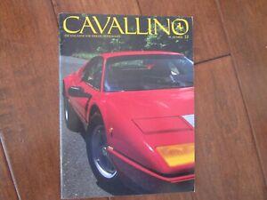 VINTAGE-CAVALLINO-FERRARI-MAGAZINE-NUMBER-22-1984-Boxer-BB-512-Cover
