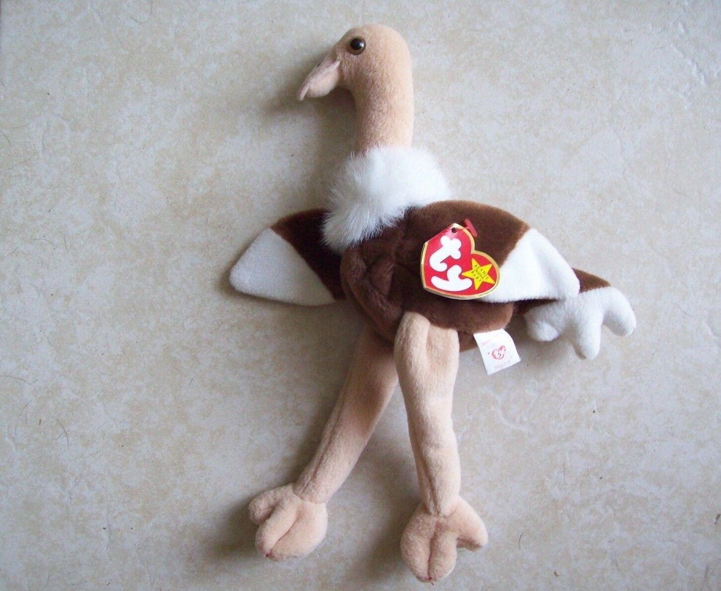 Rare Original 1997 TY Beanie Baby STRETCH with Errors + NO RED STAMP - NEW