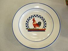 VINTAGE RETIRED REMY BY CENTURY ROOSTER DINNERWARE SET OF 4 SALAD PLATES