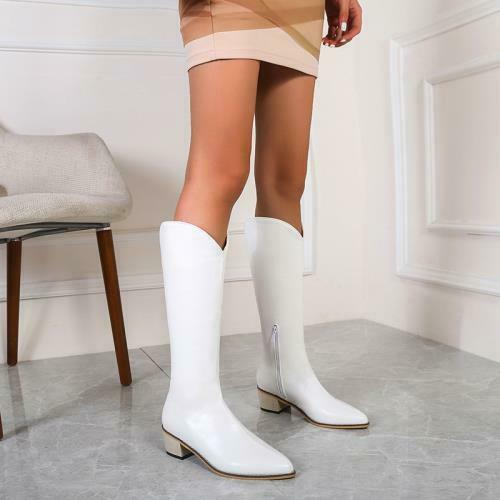 Details about  /Womens Fashion Knee High Knight Western Cowboy Boots Shoes 45//46//47//48 Winter D