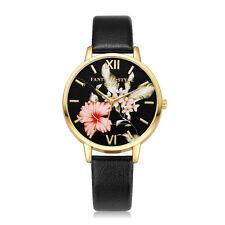 Women Fashion Leather Band Analog Quartz Round Wrist Watch Watches