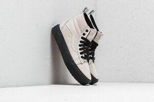 Vans-SK8-Hi-Platform-MTE-Moonbeam-Black-Women-039-s-Skate-Shoes-Size-10