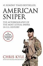 American Sniper: The Autobiography of the Most Lethal Sniper in U.S.... NEW BOOK