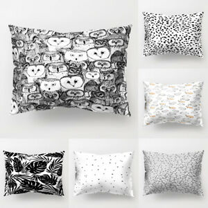 Am-ALS-New-Cat-Dot-Leaf-Owl-Pillow-Case-Cushion-Cover-Sofa-Bed-Car-Cafe-Office