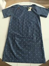 Seasalt Rylands Dress - Anchor Blue - UK10 EU38 - Sales Sample SAVE!!!!