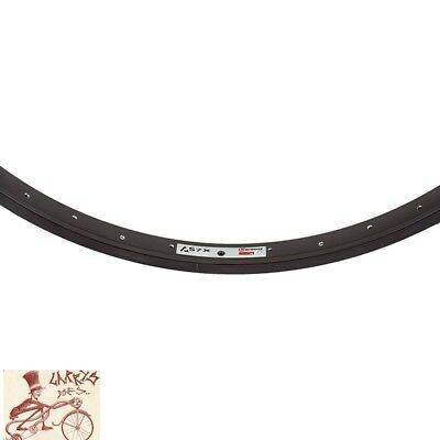 """WEINMANN AS7X   36H---26/"""" x 1.75 ANODIZED RED BICYCLE RIM"""
