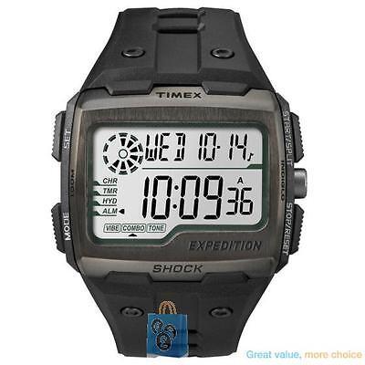 Timex Expedition Grid Shock TW4B02500 Men's Black Digital Sports Watch