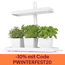 MAXXMEE LED-Pflanzenleuchte 3 Töpfe 20W weiß