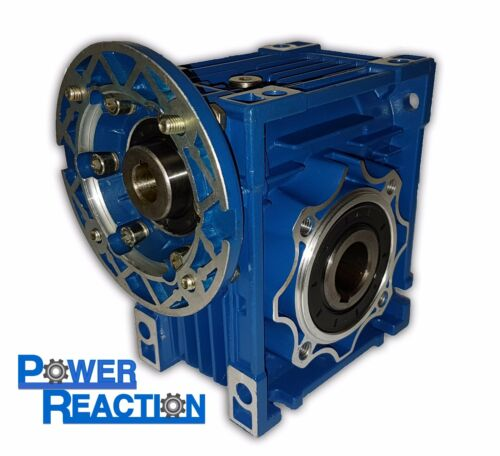 Worm right angle gearbox speed reducer size 63 ratio 151 90B14 30mm