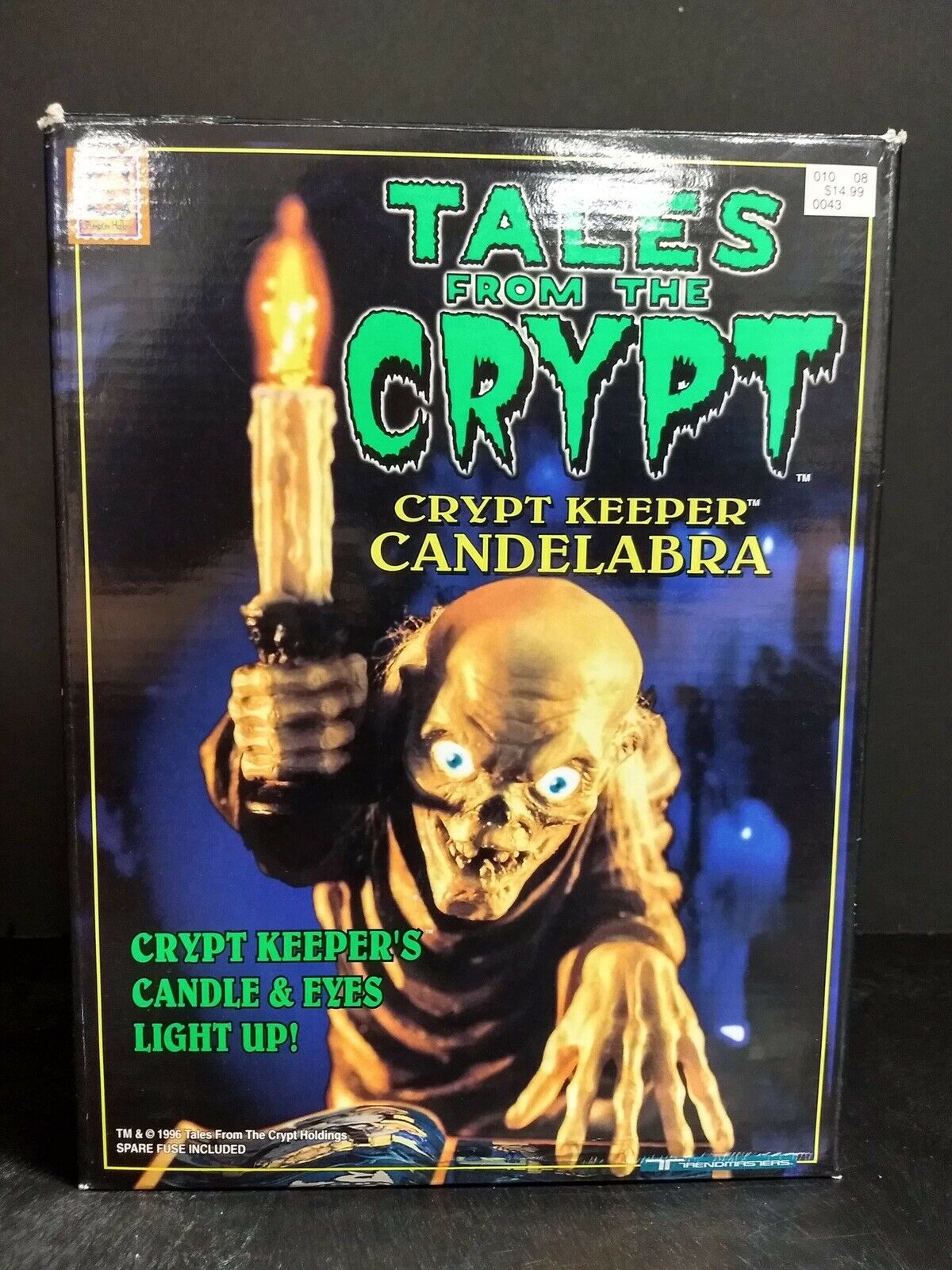 Trendmasters Tales From The Crypt Light Up Candelabra TAMP0078