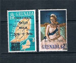 Grenada-1968-Children-Need-Milk-SG-296-7-MNH