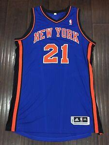 b2223ad3a7c1 RARE🔥 Adidas NBA New York Knicks Iman Shumpert Authentic Sewn ...