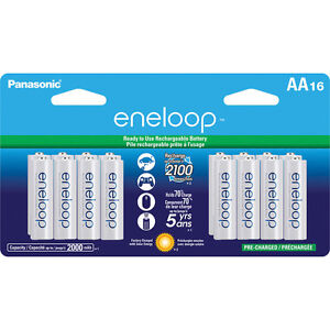 Panasonic-Eneloop-AA-16-Pre-Charged-up-to-2000mAH-2100X-Rechargeable-Batteries