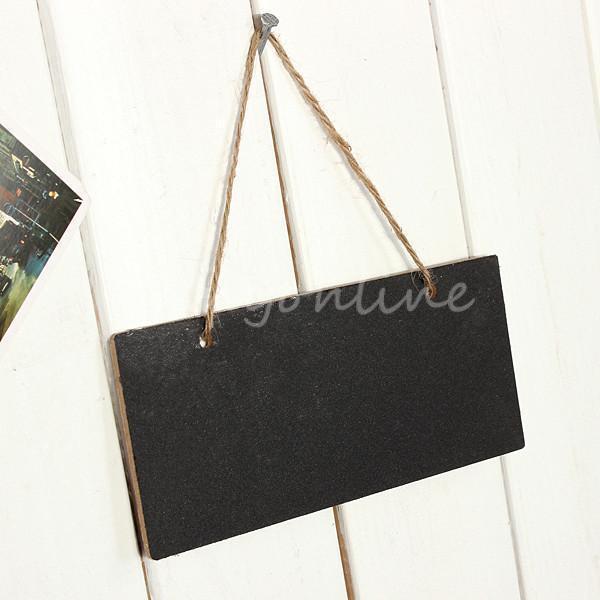 Children's Mini Small Blackboard Wedding Wooden Hanging Blackboards Chalkboards