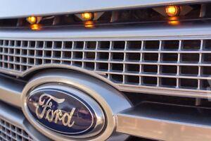 Ford F 150 Raptor Grille Style Light Kit Amber Led Light