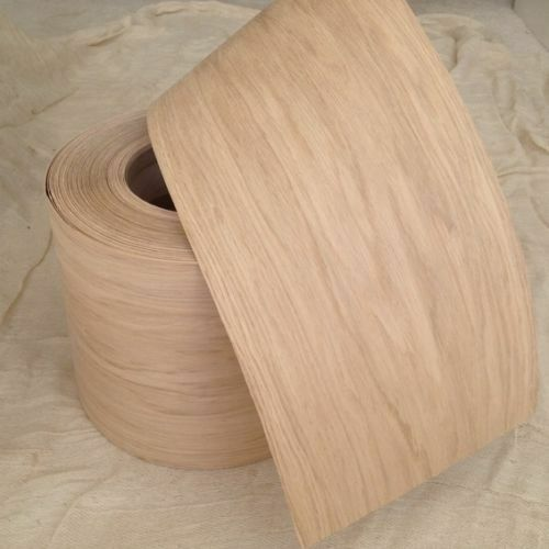 Pré collé iron on white oak placage de bois feuilles 250mm large, vous choisissez la longueur