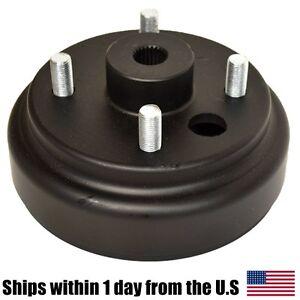 rear brake hub with studs ezgo columbia parcar gas. Black Bedroom Furniture Sets. Home Design Ideas