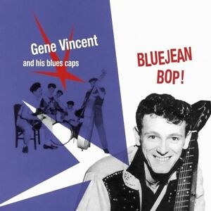 GENE VINCENT AND HIS BLUE CAPS BLUEJEAN BOP! (1956) ITALY IMPORT 500 COPIES 2018