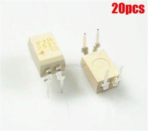 20Pcs TLP521-1GB DIP-4 Photocoupleur TLP521-1 P521GB P521 rk