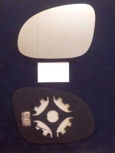 piastra-vetro-specchio-VOLKSWAGEN-JETTA-2005-2011-Sinistro-retrovisore