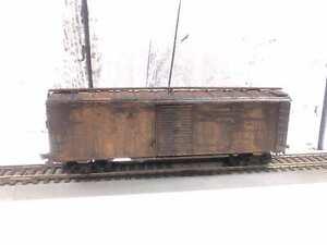 Rare-Vintage-Ho-All-Die-Cast-Monon-494-Box-Car
