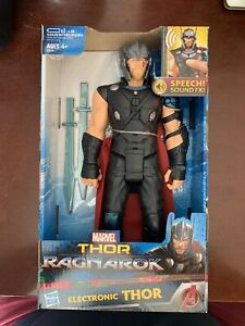 Marvel Avengers Thor Ragnarok Electronic Thor 12-Inch Action Figure