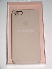 Original Apple iPhone 5 5s SE Leder Case MF042FE/A Schutz Hülle Tasche Beige